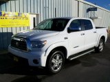 2008 Super White Toyota Tundra Limited CrewMax 4x4 #43880294