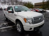 2011 White Platinum Metallic Tri-Coat Ford F150 Platinum SuperCrew 4x4 #43880352