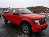 2011 Race Red Ford F150 FX4 SuperCrew 4x4 #43880354