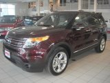 2011 Bordeaux Reserve Red Metallic Ford Explorer Limited 4WD #43879918