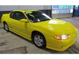 2003 Chevrolet Monte Carlo Competition Yellow