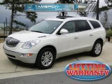 2008 White Diamond Tri Coat Buick Enclave CX #43881235