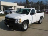 2009 Summit White Chevrolet Silverado 1500 Regular Cab 4x4 #43880814
