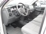 2007 Dodge Ram 3500 SLT Quad Cab 4x4 Dually Medium Slate Gray Interior
