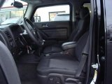 2009 Hummer H3  Ebony/Pewter Interior