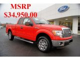 2011 Race Red Ford F150 XLT SuperCab #43880452