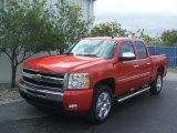 2011 Victory Red Chevrolet Silverado 1500 LT Crew Cab #43880206