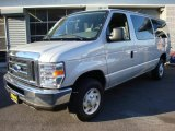 2008 Silver Metallic Ford E Series Van E350 Super Duty XLT Passenger #4385600