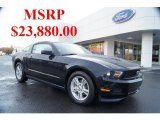 2011 Ebony Black Ford Mustang V6 Coupe #43990995
