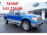 2011 Blue Flame Metallic Ford F150 XLT SuperCrew 4x4 #43991012