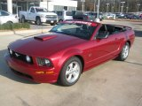 2007 Redfire Metallic Ford Mustang GT Premium Convertible #43991380