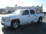 2011 Summit White Chevrolet Silverado 1500 LT Crew Cab 4x4 #43991386