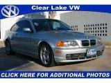 2001 Titanium Silver Metallic BMW 3 Series 330i Coupe #43992211