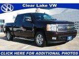 2008 Dark Cherry Metallic Chevrolet Silverado 1500 LT Crew Cab 4x4 #43992214