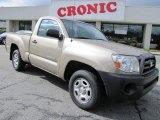 2007 Desert Sand Mica Toyota Tacoma Regular Cab #43991129