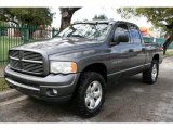 2002 Graphite Metallic Dodge Ram 1500 Sport Quad Cab 4x4 #43991134