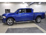 2011 Deep Water Blue Pearl Dodge Ram 1500 Sport Crew Cab #43991157