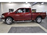 2011 Deep Cherry Red Crystal Pearl Dodge Ram 1500 Big Horn Quad Cab #43991159