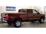 2005 Sport Red Metallic Chevrolet Silverado 1500 Z71 Extended Cab 4x4 #43991520