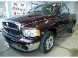2005 Deep Molten Red Pearl Dodge Ram 1500 ST Regular Cab #43990880