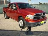 2009 Sunburst Orange Pearl Dodge Ram 1500 SLT Crew Cab #43991176