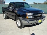 2006 Dark Blue Metallic Chevrolet Silverado 1500 LT Regular Cab 4x4 #43991184