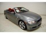 2008 Space Grey Metallic BMW 3 Series 335i Convertible #43991199