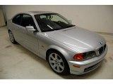 2001 Titanium Silver Metallic BMW 3 Series 325i Coupe #43991200