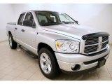 2008 Bright Silver Metallic Dodge Ram 1500 SLT Quad Cab #43991626