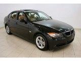 2008 Black Sapphire Metallic BMW 3 Series 328xi Sedan #44088682