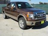2011 Golden Bronze Metallic Ford F150 Lariat SuperCrew 4x4 #44088167