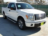 2011 Oxford White Ford F150 XLT SuperCab #44088171