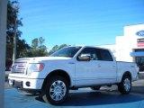 2011 White Platinum Metallic Tri-Coat Ford F150 Platinum SuperCrew 4x4 #44087852