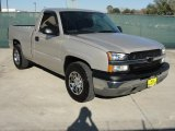 2004 Silver Birch Metallic Chevrolet Silverado 1500 Regular Cab #44088194