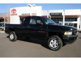 1998 Black Dodge Ram 1500 Sport Extended Cab 4x4 #44087407