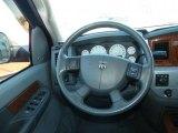 2007 Dodge Ram 1500 Laramie Mega Cab 4x4 Steering Wheel