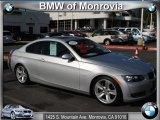 2008 Titanium Silver Metallic BMW 3 Series 335i Coupe #44088209