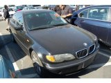 2002 Jet Black BMW 3 Series 325i Sedan #44088216