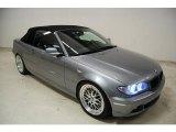 2004 Silver Grey Metallic BMW 3 Series 325i Convertible #44088217