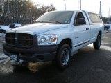 2008 Bright White Dodge Ram 1500 ST Regular Cab #44087428