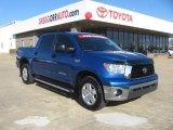 2007 Blue Streak Metallic Toyota Tundra SR5 TRD CrewMax 4x4 #44088316