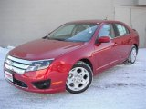 2011 Red Candy Metallic Ford Fusion SE #44087491