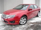2011 Red Candy Metallic Ford Fusion SE V6 #44087495