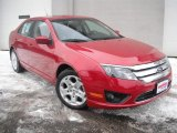 2011 Ford Fusion Red Candy Metallic