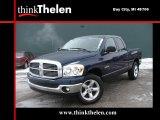 2008 Patriot Blue Pearl Dodge Ram 1500 Big Horn Edition Quad Cab 4x4 #44089157