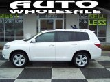2010 Blizzard White Pearl Toyota Highlander Limited 4WD #44088358