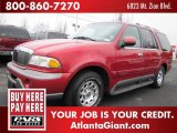 1999 Laser Red Lincoln Navigator  #44089187
