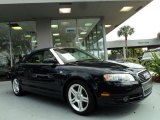 2008 Moro Blue Pearl Effect Audi A4 2.0T Cabriolet #44089189