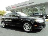 2008 Brilliant Black Audi A4 2.0T S-Line Sedan #44089194