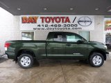 2011 Spruce Green Mica Toyota Tundra Double Cab 4x4 #44087548